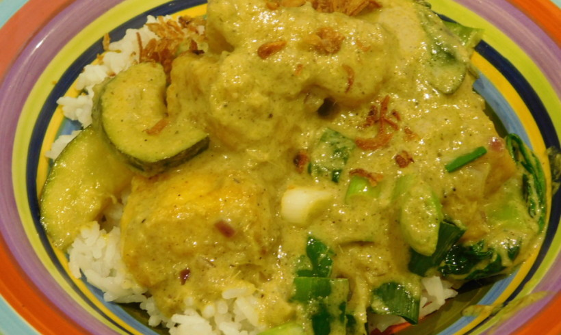 Malaysian-style fish curry