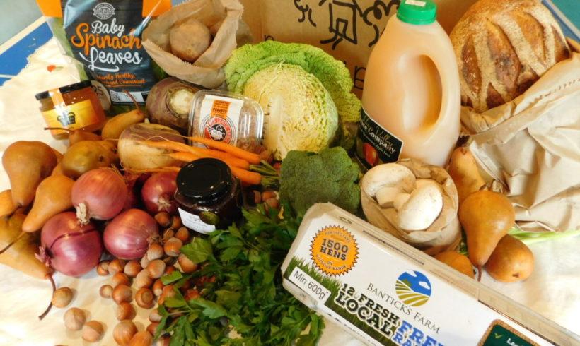 Backyard Bounty all-Tasmanian Vegie box: 8th July