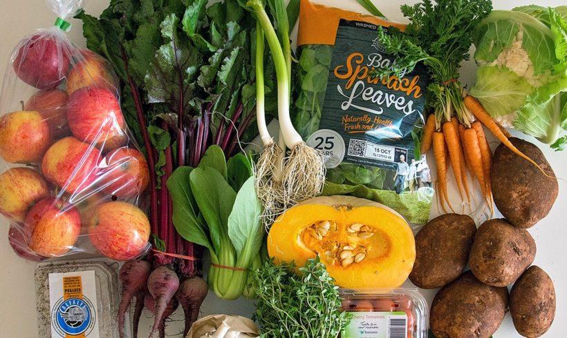 Backyard Bounty all-Tasmanian Vegie box: 7th October