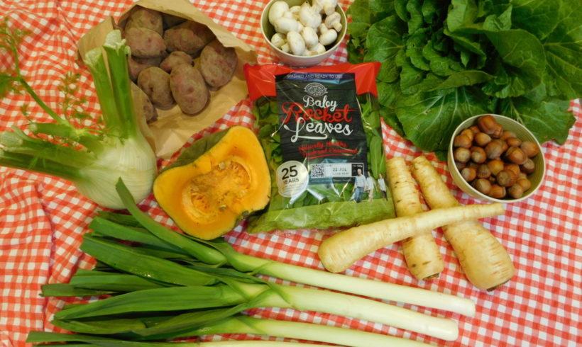 Backyard Bounty all-Tasmanian Vegie box: 14th July