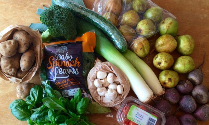Backyard Bounty all-Tasmanian Vegie box: 22nd September