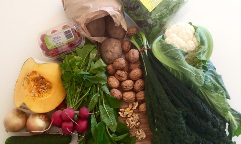 Backyard Bounty all-Tasmanian Vegie box: 20th October