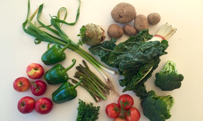 Backyard Bounty all-Tasmanian Vegie box: 13th October