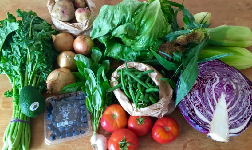 Backyard Bounty all-Tasmanian Vegie box: 16th February