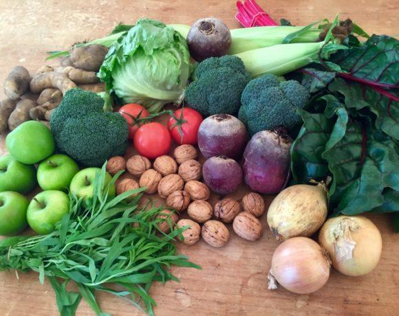 Backyard Bounty all-Tasmanian Vegie box: 20th April