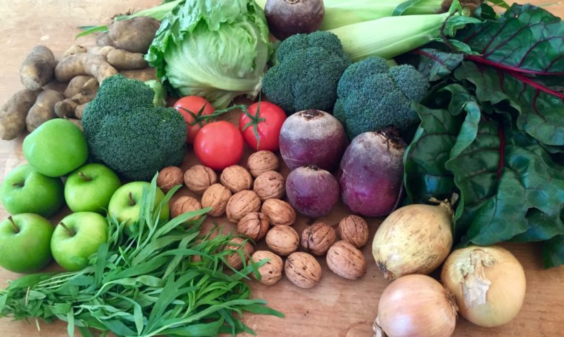 Backyard Bounty all-Tasmanian Vegie box: 20th April