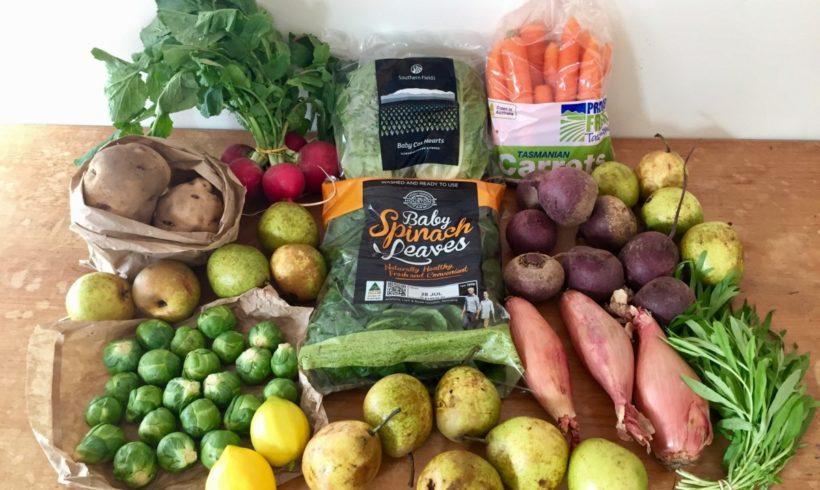 Backyard Bounty all-Tasmanian Vegie box: 20th July