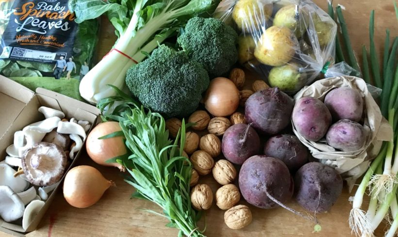 Backyard Bounty all-Tasmanian Vegie box: 31st August