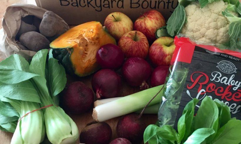Backyard Bounty all-Tasmanian Vegie box: 3rd August