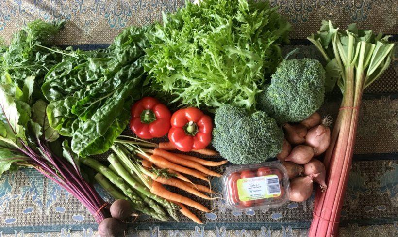 Our last Backyard Bounty all-Tasmanian Vegie box for the year!
