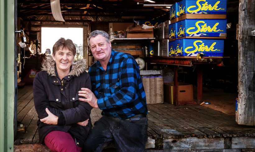 Huon Valley Juice & Duggan Brand – Mark & Christine