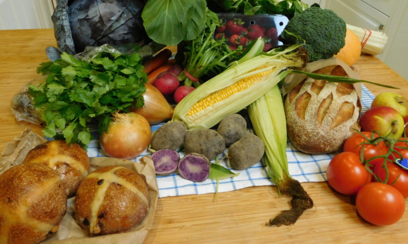 Backyard Bounty all-Tasmanian Vegie box: 24th March
