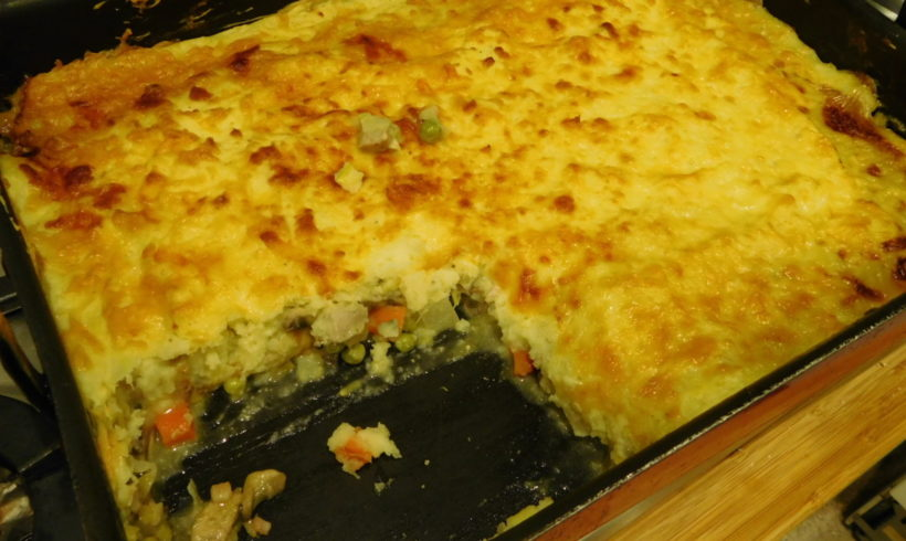 "Pheasant ""shepherds"" pie"