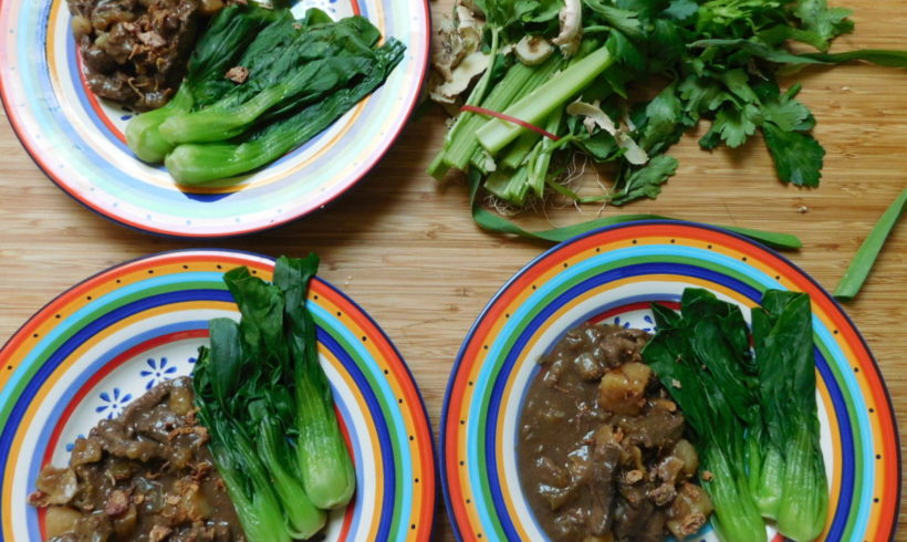 Cantonese-style braised beef and potatoes