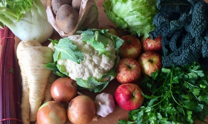 Orders for our all-Tasmanian fruit and veg boxes are now open for June