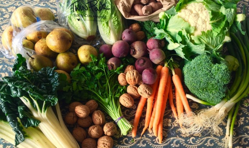 Orders for our all-Tasmanian fruit and veg boxes are now open for August