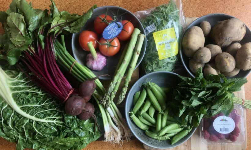 Backyard Bounty all-Tasmanian Vegie box: 14th December