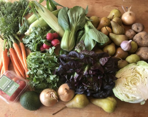 Orders for our all-Tasmanian fruit and veg boxes are now open for March!