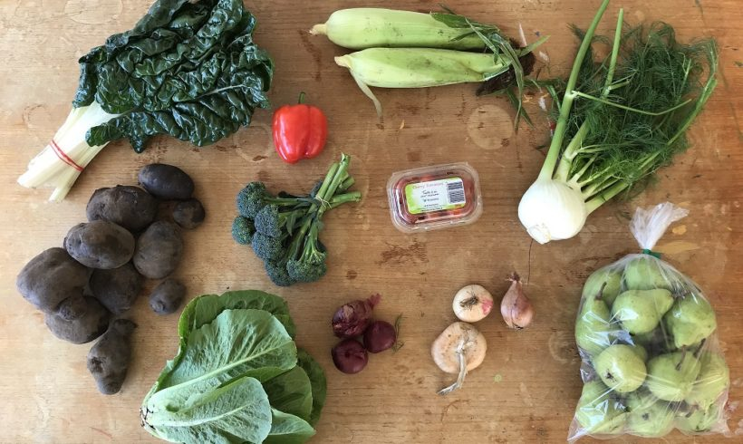 Backyard Bounty all-Tasmanian Vegie box: 12th April
