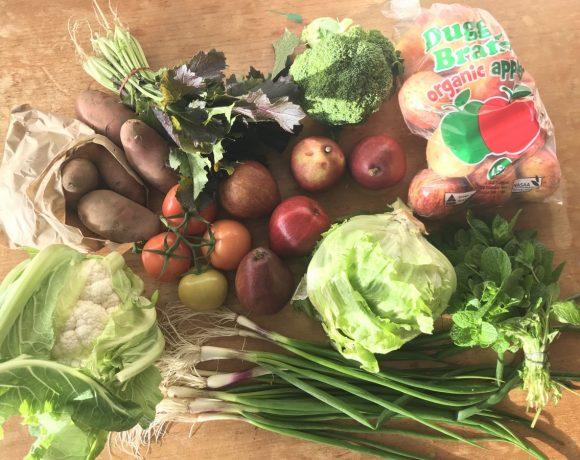 Backyard Bounty all-Tasmanian Vegie box: 21st June