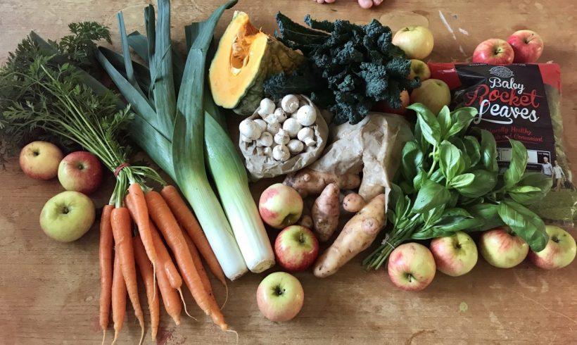 Backyard Bounty all-Tasmanian Vegie box: 19th July