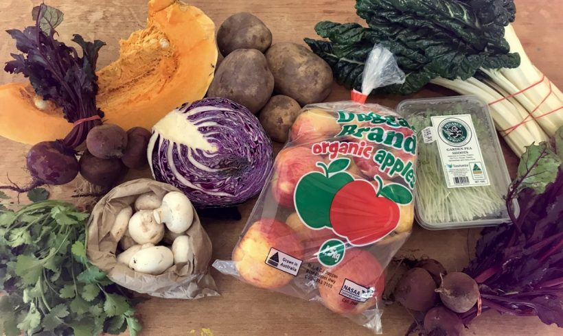 Backyard Bounty all-Tasmanian Vegie box: 23rd August