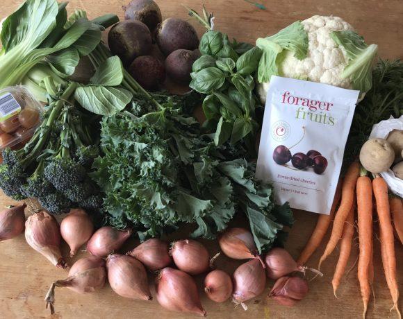 Backyard Bounty all-Tasmanian Vegie box: 18th October