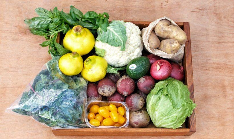 Backyard Bounty all-Tasmanian Vegie box: 16th April